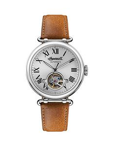 ingersoll-ingersoll-protagonist-silver-skeleton-eye-automatic-dial-tan-leather-strap-watch