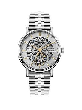 ingersoll-ingersoll-charles-silver-and-gold-detail-skeleton-automatic-dial-stainless-steel-bracelet-watch