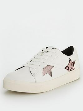 V by Very V By Very Andy Star Trainers - White Picture