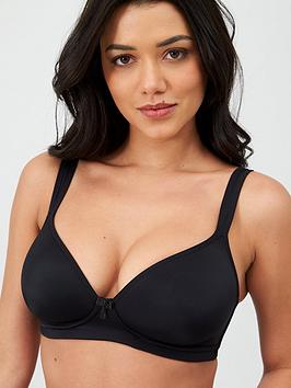 Pour Moi Pour Moi T-Shirt Non Wired Bra - Black Picture