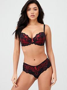 pour-moi-amour-shorty-black-scarlet