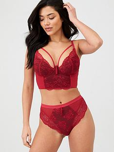 pour-moi-sensation-padded-longline-red