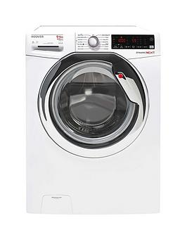 Hoover   Wdxoa496Ahw 9Kg Wash, 6Kg Dry, 1400Rpm Spin Washer Dryer - White/Chrome