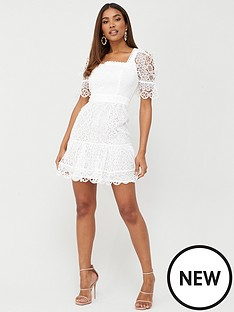 v-by-very-square-neck-a-line-lace-dress-white