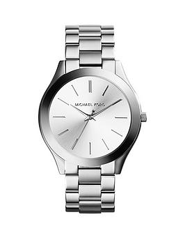 Michael Kors Michael Kors Michael Kors Silver Dial Stainless Steel  ... Picture