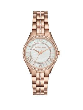Michael Kors Michael Kors Mk3716 Lauryn Silver Dial Rose Gold Stainless  ... Picture