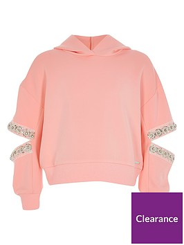 river-island-girls-embellished-sleeve-hoodie--nbsppink