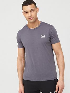 EA7 Emporio Armani Ea7 Emporio Armani Core Id Logo T-Shirt - Iron Gate Grey Picture