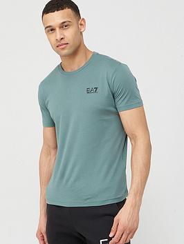 EA7 Emporio Armani Ea7 Emporio Armani Core Id Logo T-Shirt - Olive Picture