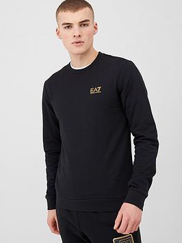 EA7 Emporio Armani Ea7 Emporio Armani Core Id Logo Sweatshirt - Black Picture