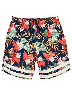 illusive-london-boys-floral-logo-swim-shorts-multi