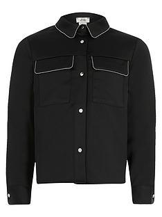 river-island-girls-beaded-trim-long-sleeve-shirtnbsp--black