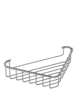 Croydex Croydex Rust Free Corner Basket Picture