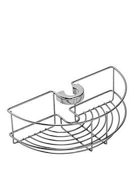 Croydex Croydex Easy-Fit Shower Riser Rail Basket Picture