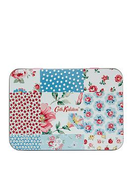 Cath Kidston Cath Kidston Cottage Patchwork Hand &Amp; Lip Tin Picture