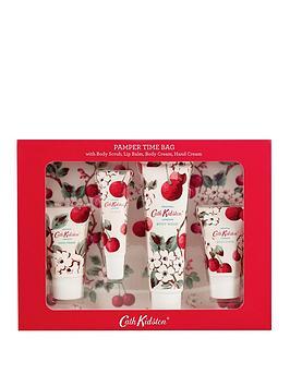 Cath Kidston Cath Kidston Cath Kidston Mini Cherry Sprig Pamper Time Set Picture