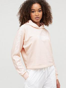 Puma Puma Amplified Cropped Hoodie - Pink Picture