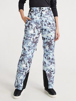 Superdry Superdry Ski Luxe Snow Pant - Frosted Blue Ice Picture