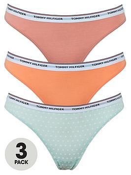 Tommy Hilfiger Tommy Hilfiger 3-Pack Thong Print - Multi Picture