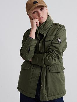 Superdry Superdry Amelia Rookie Icon Jacket - Green Picture