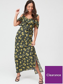 v-by-very-cold-shoulder-cotton-maxi-dress-black-floral