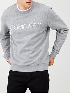 calvin-klein-cotton-logo-sweatshirt-grey