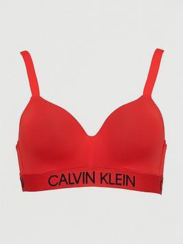 Calvin Klein Demi Bralette - Red