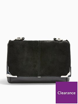 topshop-lulu-suede-shoulder-bag-black