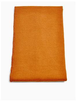 topshop-lightweight-scarf-rust