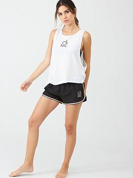 Calvin Klein Calvin Klein Side Knotted Tank Top - White Picture