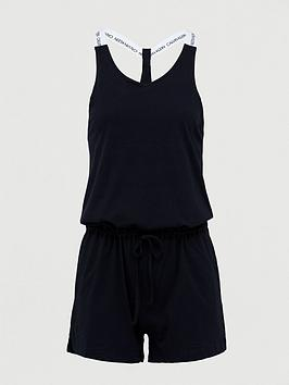 Calvin Klein   Beach Romper - Black