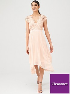 v-by-very-bridesmaid-pleated-skirt-lace-top-midi-dress-blush