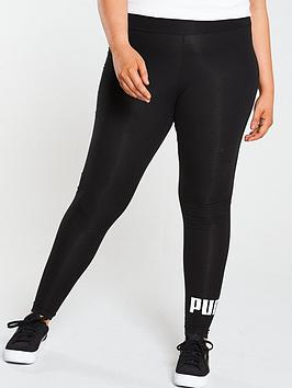 Puma Puma Essential Logo Leggings Plus - Black Picture