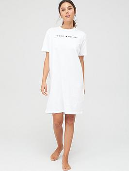 Tommy Hilfiger Tommy Hilfiger Dress Half Sleeve - White Picture