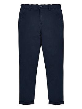 V by Very V By Very Boys Skinny Chino Trouser - Navy Picture