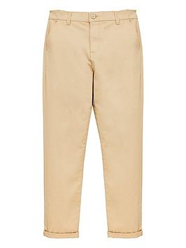 V by Very V By Very Boys Skinny Chino Trouser - Stone Picture
