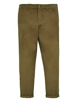V by Very V By Very Boys Skinny Chino Trouser - Khaki Picture
