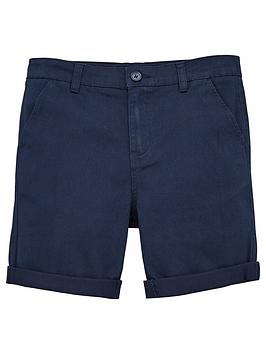V by Very V By Very Boys Chino Shorts - Navy Picture