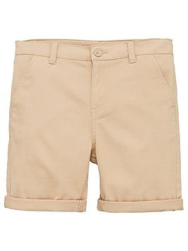 V by Very V By Very Boys Chino Shorts - Stone Picture