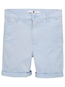 V by Very V By Very Boys Chino Shorts - Light Blue Picture