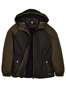 V by Very V By Very Boys Colour Block Fleece Lined Windcheater Jacket -  ... Picture