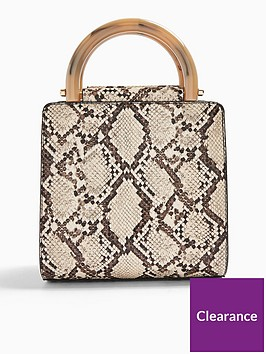 topshop-selma-snake-print-shoulder-bag-multi