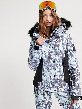 Superdry Superdry Ski Luxe Snow Padded Jacket - Blue Picture