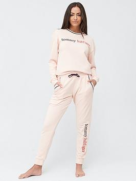 tommy-hilfiger-loungenbsptrack-top-pink