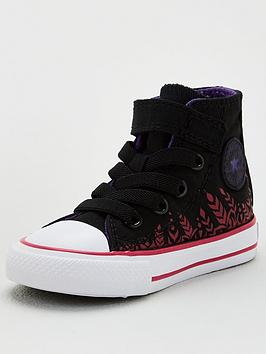 Converse Converse Frozen 2 Anna Hi Top Toddler Trainers - Black Picture
