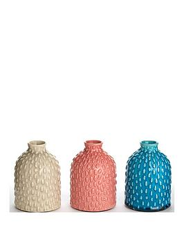 Very Set Of 3 Decorative Pots Picture