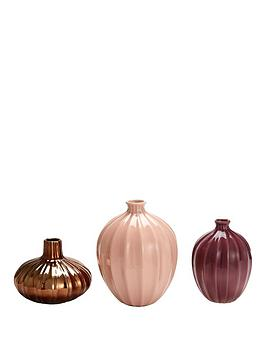 Michelle Keegan Home Michelle Keegan Home Set Of 3 Glazed Vases &Ndash;  ... Picture