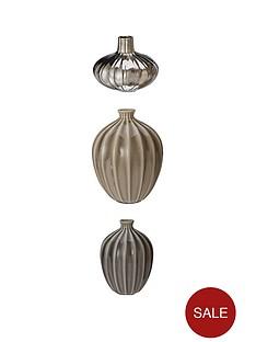 set-of-3-glazed-vases-ndash-silver-charcoal-and-grey
