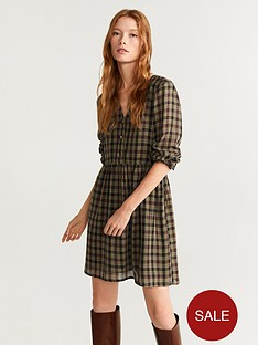 mango-check-dress