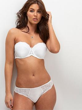 Charnos Charnos Opera Padded Strapless Bra - Ivory Picture